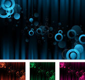 Abstract background collection — Stock Photo