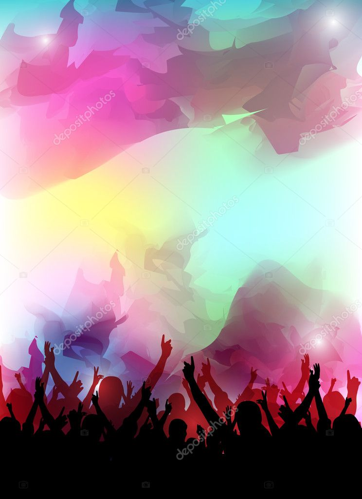 An abstract colorful party background for design — Stock Photo #10466945