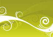 Abstract green design — Vector de stock