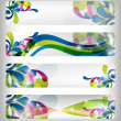 Abstract colorful banner - Stock Photo