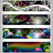 Abstract vector banner — Stock Photo