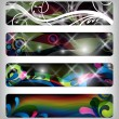 Abstract vector banner — Stock Photo #9835101