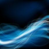 Fütüristik mavi tasarım — Stok fotoğraf