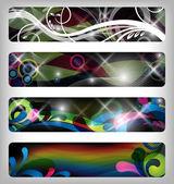 Abstract vector banner — Foto de Stock