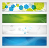 Abstract website header — Stock Photo
