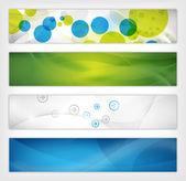 Abstrakte website-header — Stockfoto