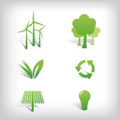 Environment Vector Icons — Stock Photo