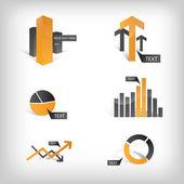 Info Graphic Icons — Stock Photo