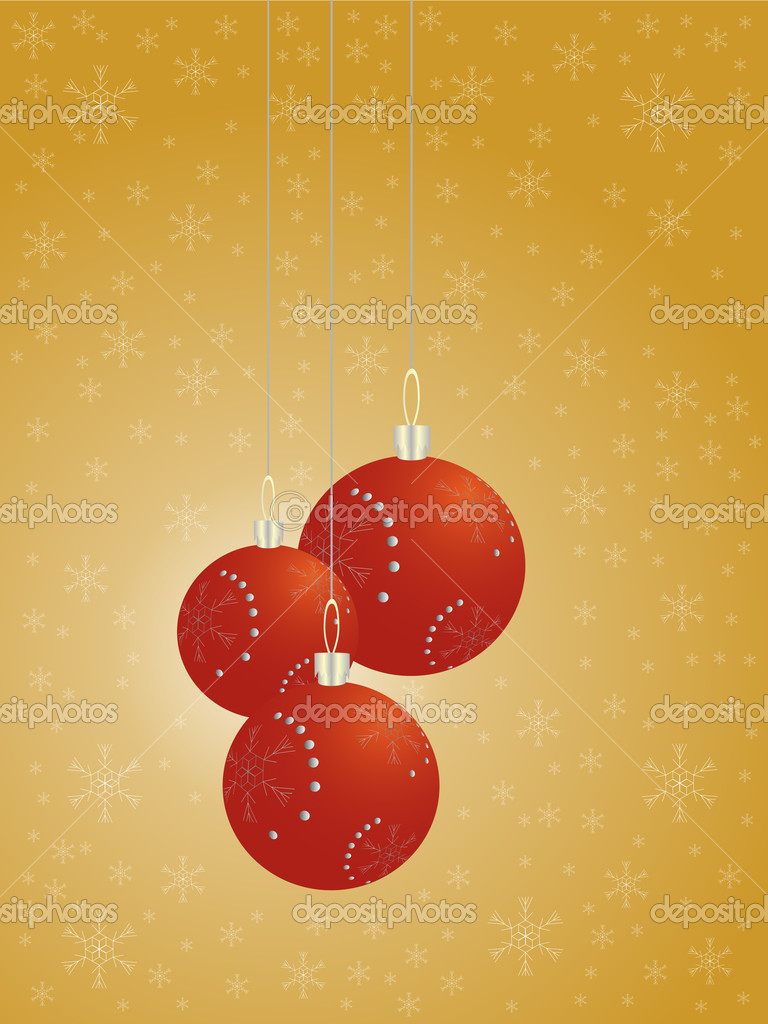 Christmas balls — Stock Vector #9722306