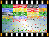 Abstract mosaic — Stock Vector