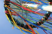 German maypole — Stock Photo
