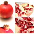 Royalty-Free Stock Photo: Pomegranate collage