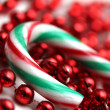 Stock Photo: Candy cane decoration