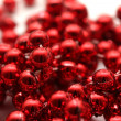Stock Photo: Isolated red pearls