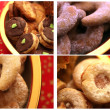 Christmas cookies mix - Stock Photo