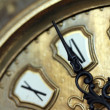Retro clock close up - Stockfoto
