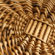 Wood basket texture — Stock Photo