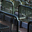 Stock Photo: Seated rows