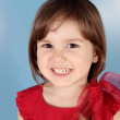 Little Child Smiling Girl Portrait — Stock Photo