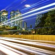 Traffic in downtown of Hong Kong — Stock Photo #10017705