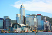 Hong kong city at day — Stock Photo