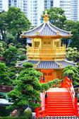 Pabellón de la perfección absoluta en el nan lian jardín, hong kon — Stok fotoğraf