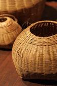 Bambu korg — Stockfoto