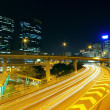 Highway at night in modern city — Stock Photo #8610999