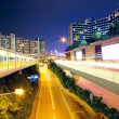 Urban area at night — Stock Photo