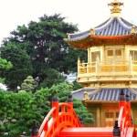 Pavilion of Absolute Perfection in the Nan Lian Garden, Hong Kon — Stock Photo #8611218