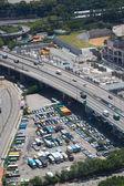 Car park in city — Stock Photo