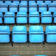 Blue Seats On Stadium — Stock Photo #9467237
