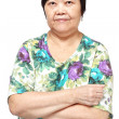 Asian woman on white background — Stock Photo #9467450