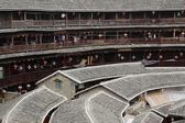 Fujian tulou-special architecture of china — Stock Photo