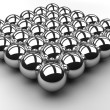 Chrome Ball Array — Stock Photo #9291042