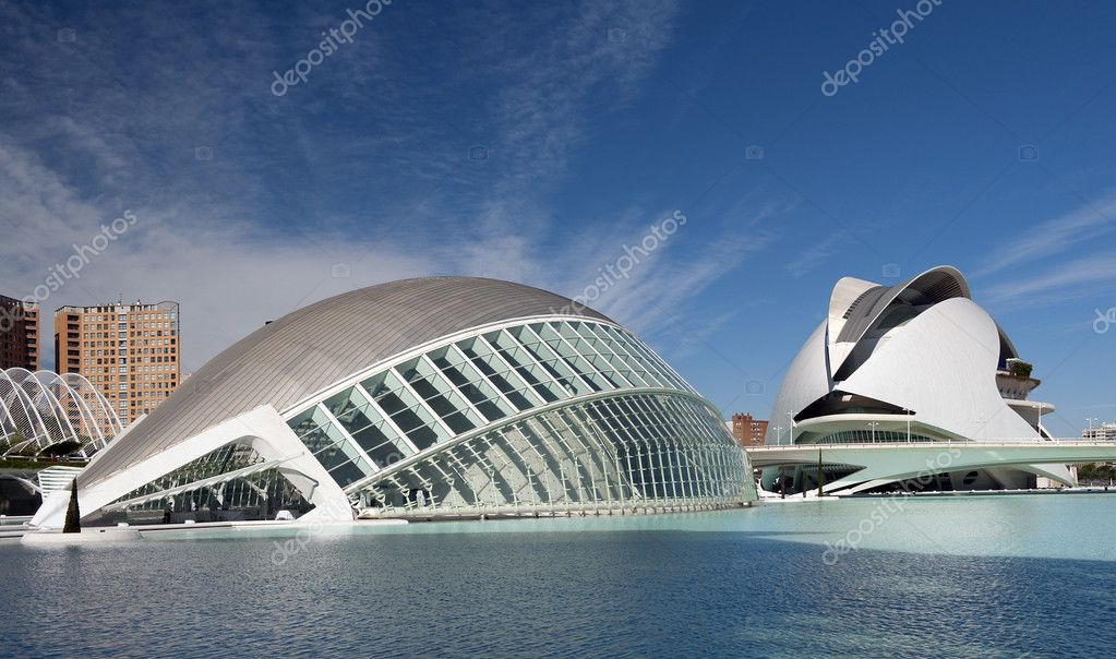 Hemisferic Building at The City of Arts and Sciences Valencia, Spain — Stock Photo #10280655