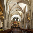 Stock Photo: Nave inside ValenciCathedral
