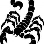 Vector image scorpion — Stock Vector