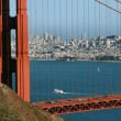 Golden Gate and San Francisco — Stock Photo #8669269