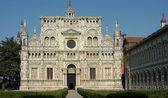 Certosa di Pavia abbey — Stock Photo