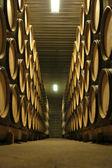 Bourgogne wine cellar — Stock Photo