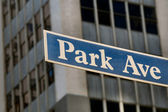 Park Avenue — Stock Photo