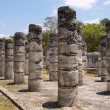 Stock Photo: 1000 pillars at Chichen Itzsite