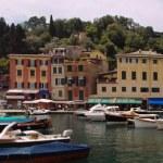 Widok Portofino — Zdjęcie stockowe