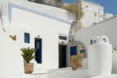 Greek house in Santorini — Foto Stock