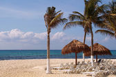 Playa del Carmen beach — Stock Photo