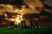 Stonehenge ruins — Stock Photo