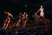 Kylie Minogue in concert — Stock Photo
