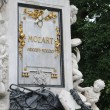 Mozart Monument — Stock Photo