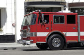 Fire department truck — Foto Stock